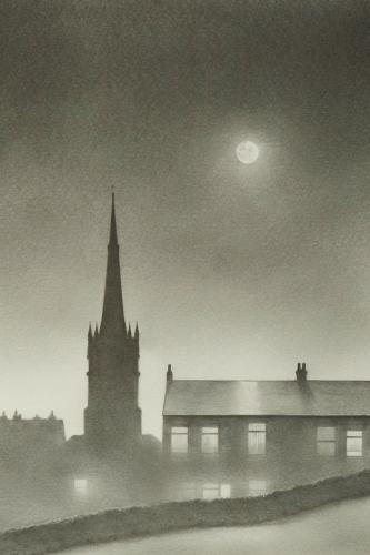 Heaton Norris - Moon Over Christ Church 12